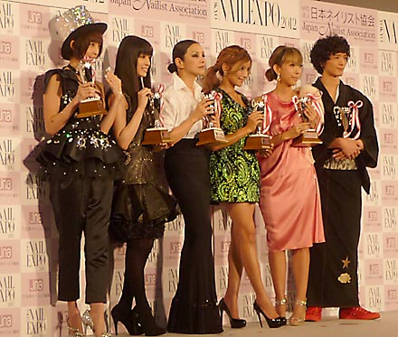2012ネイルクイーン授賞式(東京ビッグサイト)