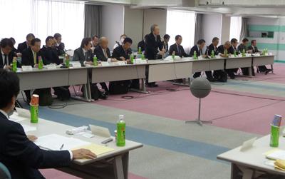 平成26年度の事業計画、同予算などを審議した全理連理事会