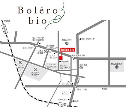 美容室ボレロビオ(hair salon Bolero bio)のマップ。見学するには、事前にみかんぐみ株式会社の無料相談に申し込むことが必要