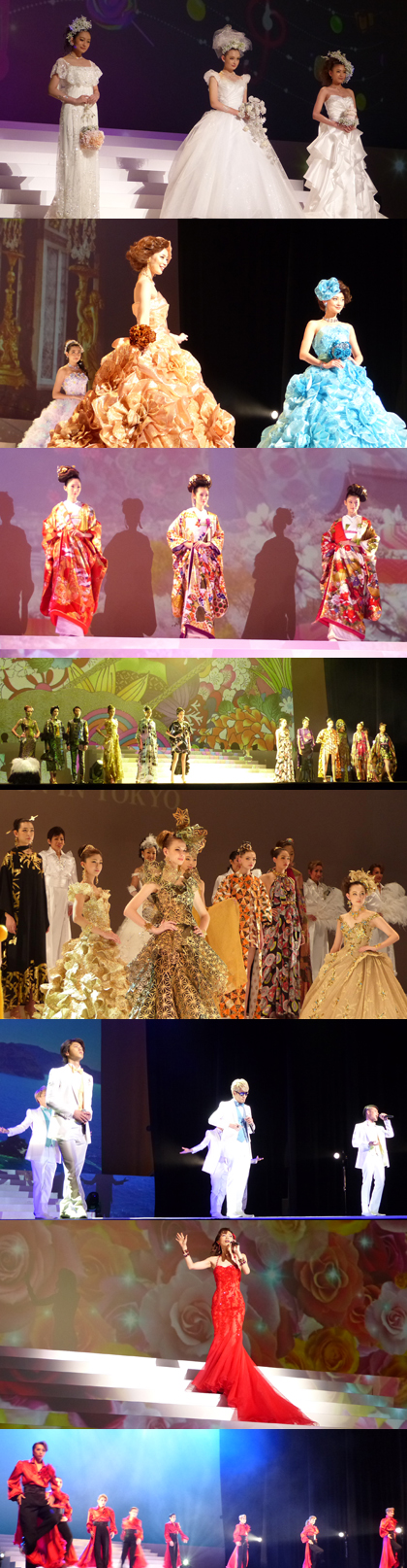 YUMI KATSURA GRAND COLLECTION IN TOKYOのステージ
