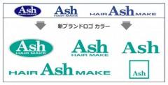 ロゴデザインは同じだが、カラーをターコイズブルーに変更