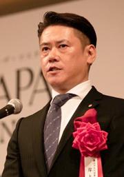 岸上興自SPCGLOBAL第29代理事長