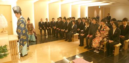 中央理美容専門学校の第50回成人式(写真提供/同校)