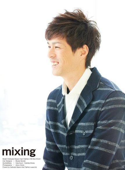 2017F's STYLEのモデルは岡大海選手