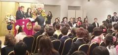 関東美容専門学校の平成28年度春期卒業証書授与式