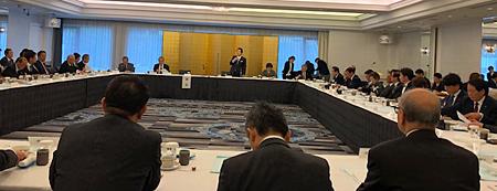 全美連の第382理事会(会場は、東京・紀尾井町のホテルニューオータニ)