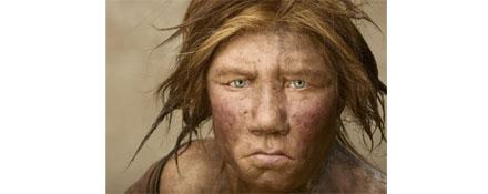 DNA情報に基づき復元されたネアンデルタール人の女性(『National Giographic』より )